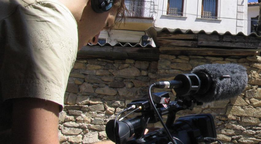 Camerman in Krusevo