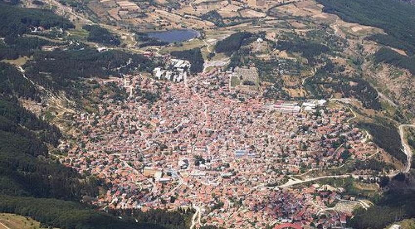 Krusevo from above