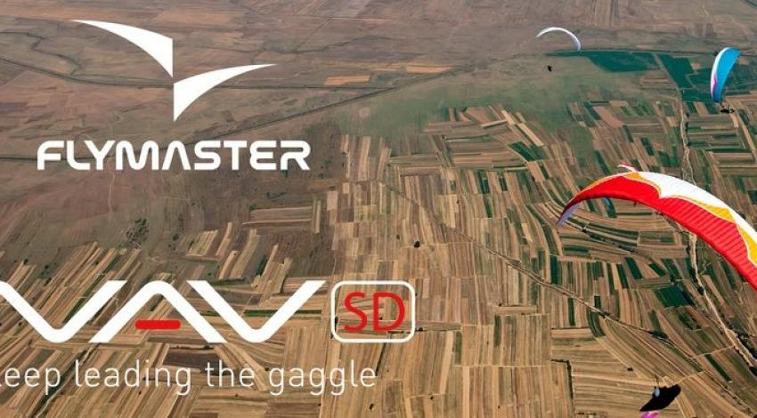 Flymaster Open Photograph of paragliders high above